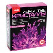 Набор для выращивания кристаллов Lori Фиолетовый кристалл Лк-007
