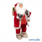 Игрушка Дед Мороз под елку 80 см M40