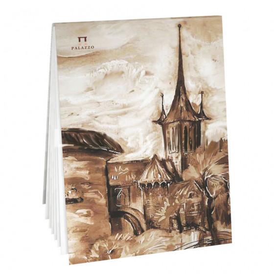 Папка для акварели А5 Palazzo Старый Таллин 20 листов, 200 г/м2, среднее зерно ПЛА5/20
