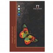 Папка для пастели А4 Palazzo Бабочка 20 листов, 200 г/м2, 4 цвета ПБ/А4