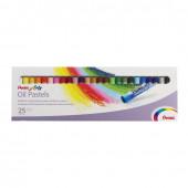 Пастель масляная художественная Pentel Oil Pastels 25 цветов круглое сечение PHN4-25