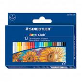 Пастель масляная художественная Steadtler Noris club 12 цветов круглое сечение 241 NC12