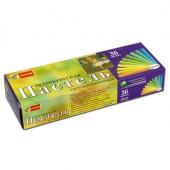Пастель сухая художественная Спектр Петербургская 36 цветов круглое сечение