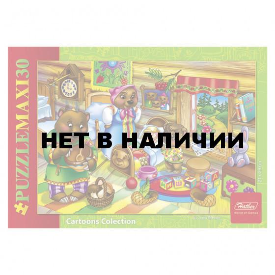 Пазл Hatber Maxi Маша и медведи А4, 30 элементов 30ПЗ4 10704, U126134