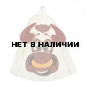 Шапка для бани Нot Pot Бык (войлок) 41317