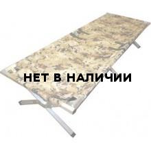 Кровать туристическая раскладушка Медведь 190 до 200 кг.