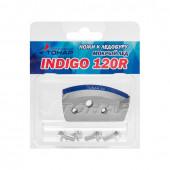 Ножи для ледобура Indigo 120R мокрый лед, правое вращение NLI-120R.ML