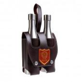 Фляжка Helios Две Бутылки СССР в чехле 0,5 л JP-56-1
