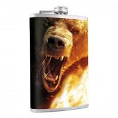 Фляжка Helios Медведь 240 мл HS-F-B-A21-1