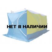 Палатка для зимней рыбалки Стэк Куб-3 трехслойная Дубль (дышащий верх)