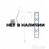 Оснастка фидерная Яман Лещ №3, кормушка 60 г, отвод 12 см, шнур 0,15 мм, крюч. 8 Я-ОЛ3-60-015-8