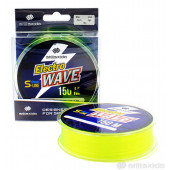 Леска Shii Saido Electro wave, 150 м, 0,165 мм, до 2,16 кг, желтая SSE150-0,165