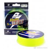 Леска Shii Saido Electro wave, 150 м, 0,496 мм, до 16,85 кг, желтая SSE150-0,496