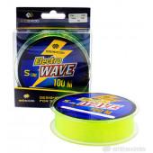 Леска Shii Saido Electro wave, 100 м, 0,309 мм, до 7,01 кг, желтая SSE100-0,309