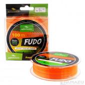 Леска Namazu Fudo, 100 м, 0,35 мм, до 10,00 кг, оранжево-желтая NF100-0,35