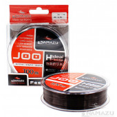 Леска Namazu Joo, 100 м, 0,2 мм, до 3,75 кг, черная NJ100-0,2