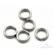 Заводное кольцо Namazu, цвет Cr, р. 1 ( d=11,5 mm), до 43 кг 10 шт N-FT-RA1