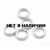 Заводное кольцо Namazu, цвет Cr, р. 4 ( d=8 mm), до 23 кг 10 шт N-FT-RA4