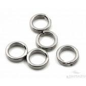 Заводное кольцо Namazu, цвет Cr, р. 8 ( d=5 mm), до 6,5 кг 10 шт N-FT-RA8