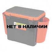 Ящик для зимней рыбалки Helios FishBox односекционный 19л оранжевый