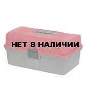 Ящик рыболова Helios двухполочный красный