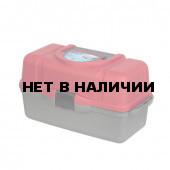 Ящик рыболова Helios трехполочный красный