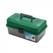 Ящик для инструментов Helios двухполочный зеленый
