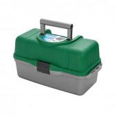 Ящик для инструментов Helios трехполочный зеленый