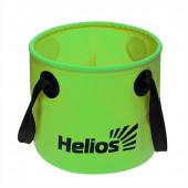 Ведро складное Helios 11л ПВХ (HS-VS-PVC-11L)