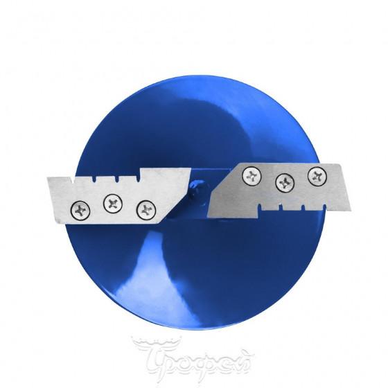 Ледобур Helios HS-180D (диаметр 180 мм) двуручный, левый, прямые ножи