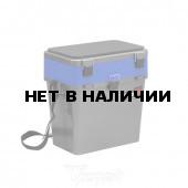 Ящик рыболовный зимний Helios двухсекционный 19л серый/синий (HS-IB-19-GB)