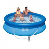 Бассейн надувной Intex Easy Set + фильтр-насос (28122) 305х76 см