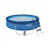Бассейн надувной Intex Easy Set + фильтр-насос (26168) 457х122 см