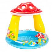 Бассейн надувной детский 1-3 года Intex Гриб Мухомор (57114) 102х89 см
