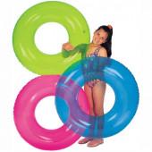 Круг надувной детский от 8 лет Intex (59260) цвет в ассортименте