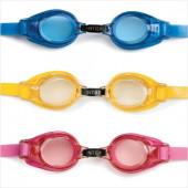 Очки для плавания детские 3-8 лет Intex Юниор 55601 цвет в ассортименте