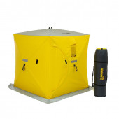 Палатка для зимней рыбалки Helios Куб трехслойная 1,5х1,5 (HS-ISCI-150YG)
