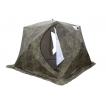 Палатка для зимней рыбалки Стэк Куб-4 Т трехслойная камуфляж, выход под трубу