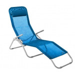 Шезлонг GoGarden Comfy Plus 50316 синий меланж