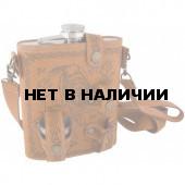 Фляжка и набор стопок Helios Волк 500 мл XPT-18