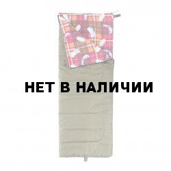 Спальный мешок Helios Батыр СО-2 зелёный (холлофайбер)