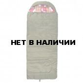 Спальный мешок Helios Батыр XXL СОШ-4 зелёный (холлофайбер)
