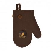 Рукавица для бани Банные Штучки (войлок) коричневая 41421