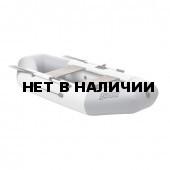 Лодка ПВХ Тонар Бриз 260 (бело-серая)