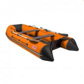 Лодка ПВХ под мотор Тонар Алтай 320L (оранжево-черная)