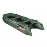 Лодка ПВХ под мотор, с надувным дном Тонар Алтай А360 (зеленая)