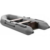 Лодка ПВХ под мотор Тонар Капитан 260Т (серая)