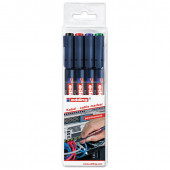 Маркеры для кабелей Edding 8407 линия 0,3 мм 4 цвета E-8407/4S