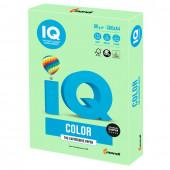 Бумага цветная для принтера IQ Сolor А4, 80 г/м2, 500 листов, зеленая, MG28