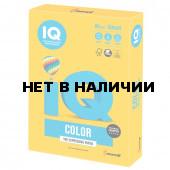Бумага цветная для принтера IQ Сolor А3, 80 г/м, 500 листов, солнечно-желтая, SY40